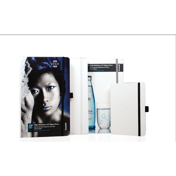 Large notebook plain paper matra bianco plus- mck promotions