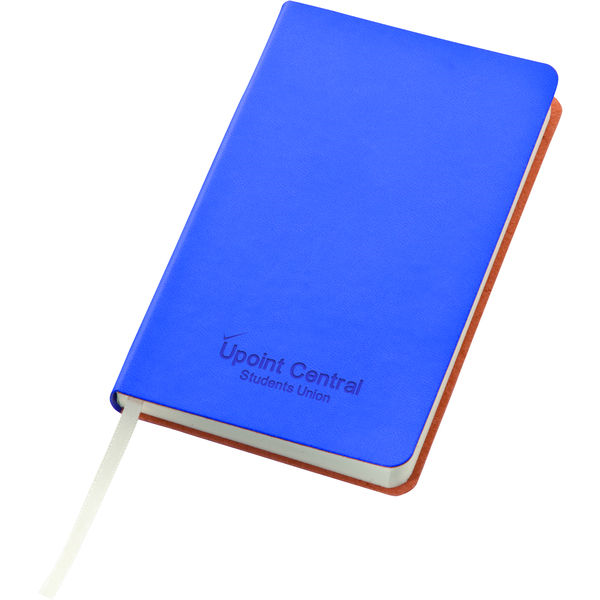 Liberty soft-feel notebook A5 (blue)- mck promotions