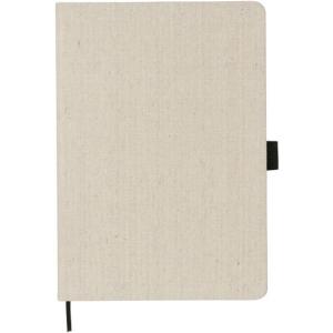 Luna A5 Canvas notebook (natural)- mck promotions