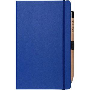 Medium notebook plain paper matra blue)- mck promotions
