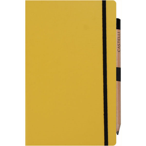 Medium Notebook Ruled Paper Matra The Matra medium notebook from the Ivory collection offers a wealth of beautifully crafted features for a practical and durable companion ideal for notations or sketches at work, travelling or in your free time. The Matra notebooks are available in a range of colours with a coordinating coloured closure band and also feature a pen loop. Choose from either plain, ruled or graph paper on beautiful ivory coloured pages (240 in total) with crafted rounded corners for an elegant look with a gold ribbon marker to complement the design.