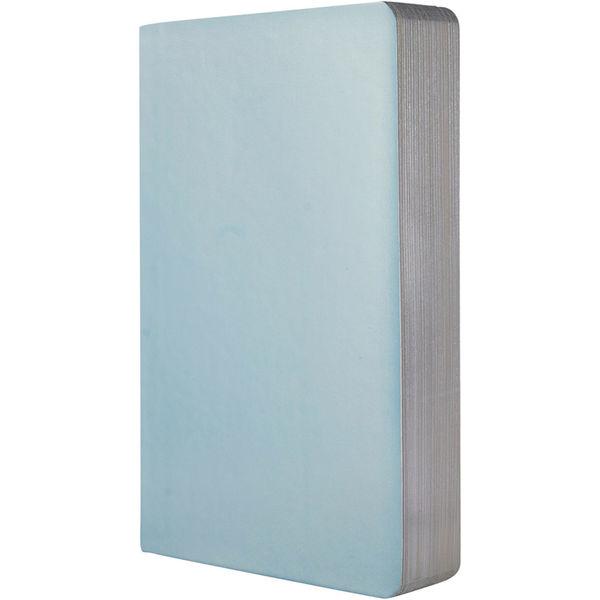 Metallic Notebook (light blue)- mck promotions
