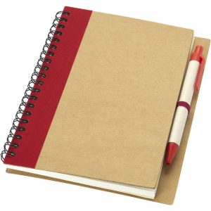 Priestly notebook and pen- mck promotions