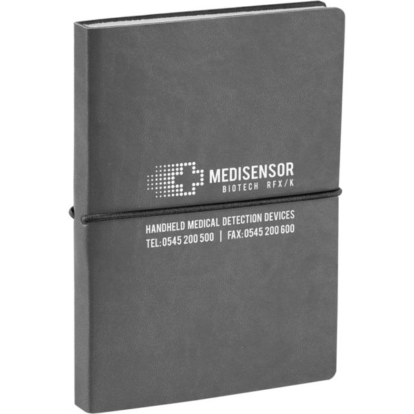 Siena notebook (grey)- mck promotions