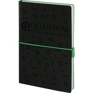 Sorrento notebook (black,green)- mck promotions