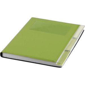 Tasker A5 Notebook (green)- mck promotions
