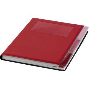 Tasker A5 Notebook (red)- mck promotions