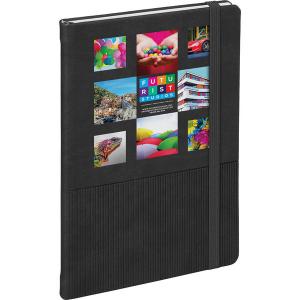 Vertigo notebook (black)- mck promotions