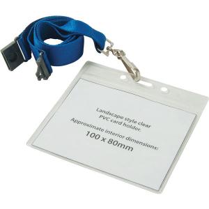 clear pvc wallets (blue)- mck promotions