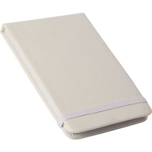 flip cover notebook (white,white)- mck promotions