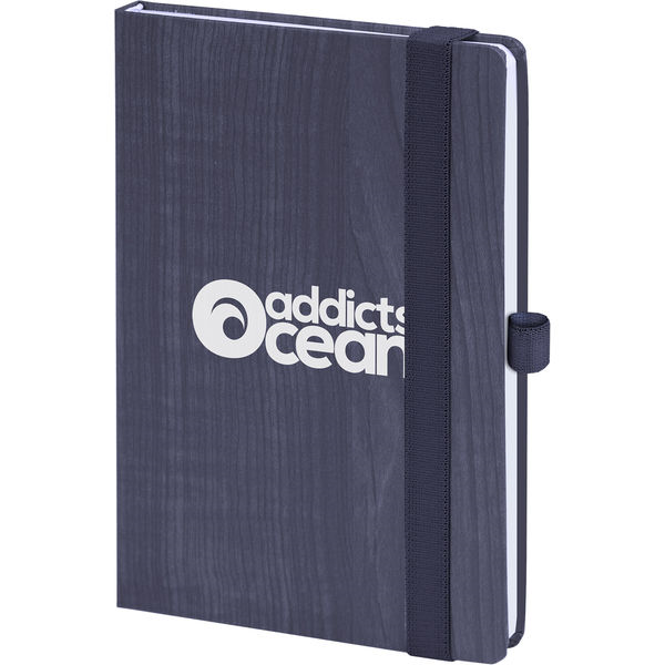 forest notebook (blue)- mck promotions