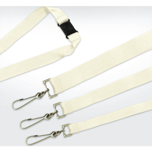 green & good eco lanyards deluxe 10mm - plant fibre. mck promotions
