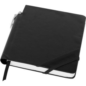 patch the edge notebook and ballpoint pen- mck promotions