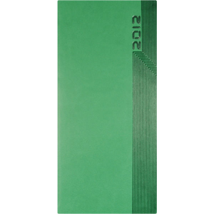 pocket indexed weekly portrait cream tucson (green)- mck promotions