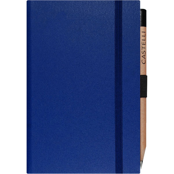 pocket notebook ruled matra (blue)- mck promotions