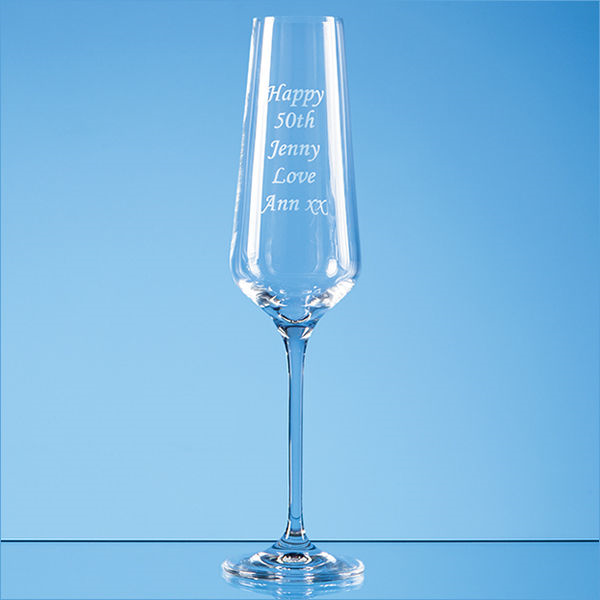 180ml infinity champayne flute- mck promotions