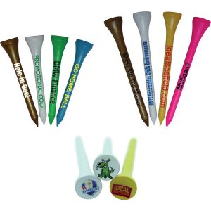 55mm wooden golf tees- mck promotions