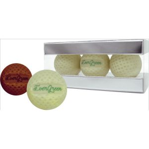 Cocoa ooze chocolate golf balls- mck promotions