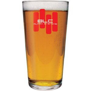 Conical pint glass- mck promotions