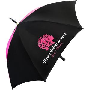 Eclipse medium black umbrella - mck promotions