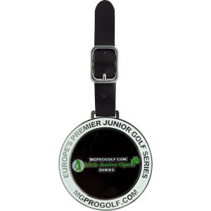 Enamel golf bag tag- mck promotions