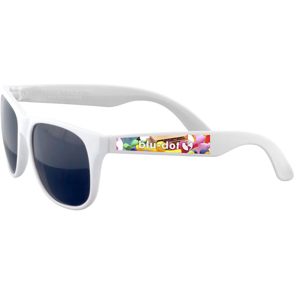 Fiesta sunglasses (white)- mck promotions