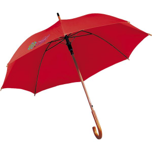 First class umbrella (red)- mck promotions