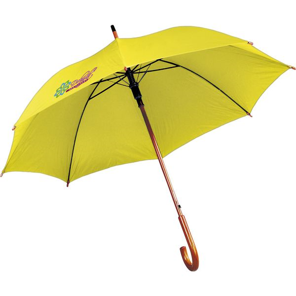 First class umbrella (yellow)- mckpromotions