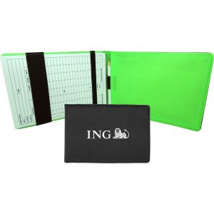 Golf scorecard holder- mck promotions