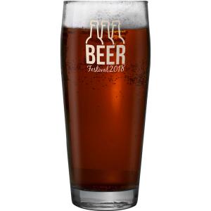 Jubilee Willi Becher half pint glass- mck promotions
