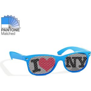 Sunglasses print on lens (blue)- mck promotions