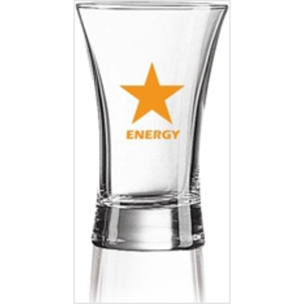 glass shot 1oz,25ml clear- mck promotions