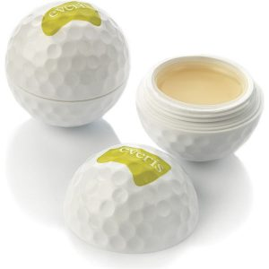 golf ball lip balm- mck promotions
