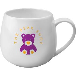 hug mug white bone china- mck promotions