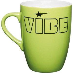 pantone matched marrow colourcoat mug (matt green)- mck promotions