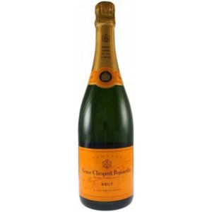 personalised veuve clicquot yellow lable champayne75cl- mck promotions