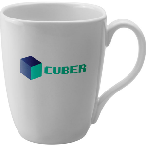 quadra white mug- mck promotions