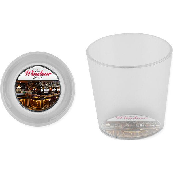 shot glass (logo black)- mck promotions