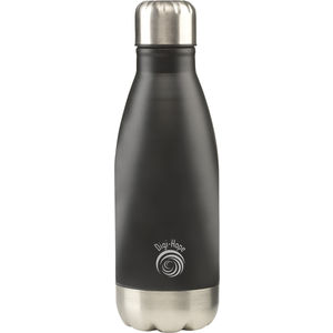 topflask 350ml water bottle (black)- mck promotions