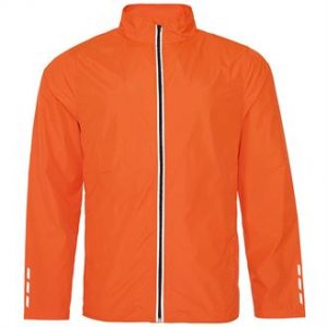 Cool running jacket (orange)- mck promotions