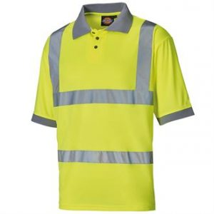 Hi-vis polo shirt-- mck promotions