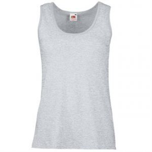 Lady-fit valueweight vest (grey)- mck promotions