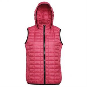 Women's honeycomb hooded gilet (mck promotions)