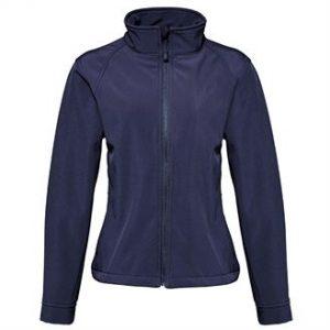 Women's softshell jacket (NAVY)- mck promotions