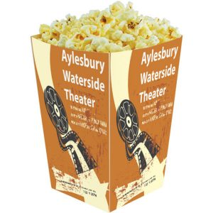 48oz Popcorn Tubs - MCK Promotions