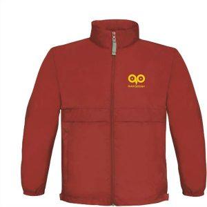 B&C BagJack mens jacket (red)- mck promotions