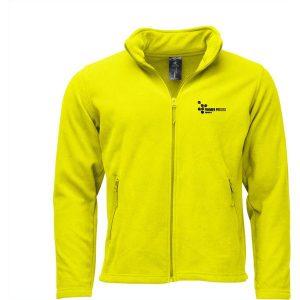B&C Dayton fleece jacket mens (neon green) mck promotions