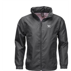 B&C Windbreaker mens jacket (black)- mck promotions