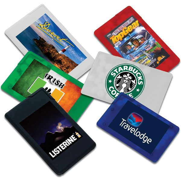 Credit Card Shaped Mint Containers-MCK Promotions