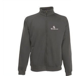 Fruit Classic Sweatjacket mens (grey)- mck promotions